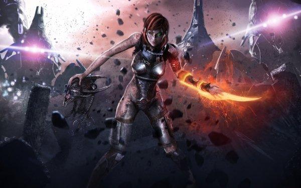 Video Game Mass Effect Commander Shepard HD Wallpaper | Background Image