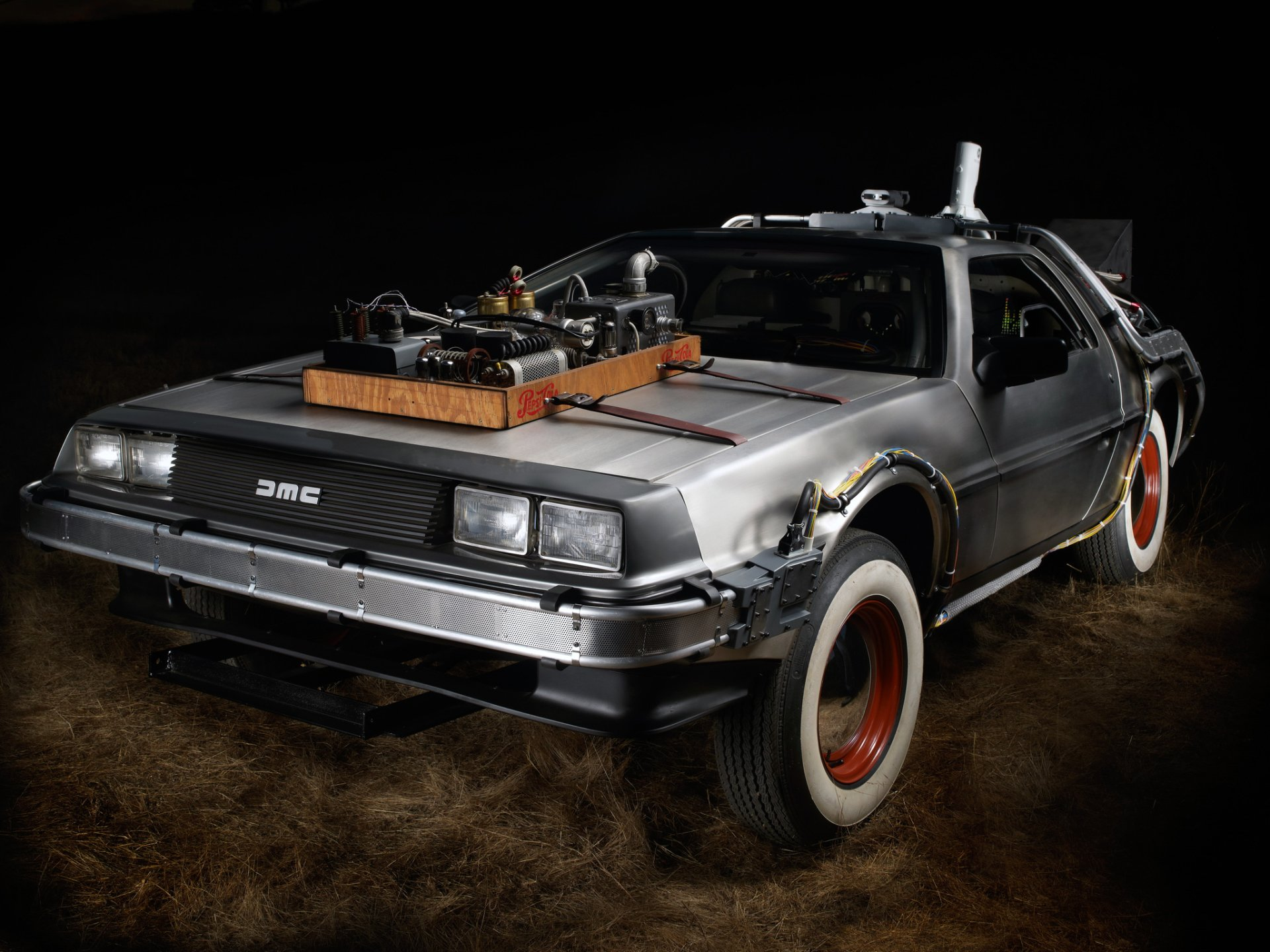 Movie - Back To The Future Part III  Back To The Future Movie DeLorean Car Wallpaper