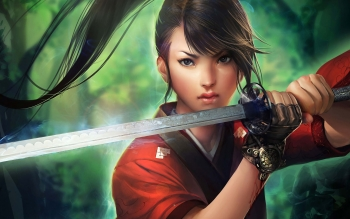 Fantasy - Women Warrior Wallpapers and Backgrounds ID : 281464