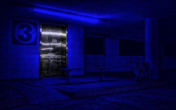 Man Made Other Blue Urban HD Wallpaper | Background Image