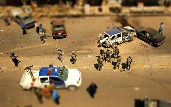 Military Soldier Tilt Shift HD Wallpaper | Background Image