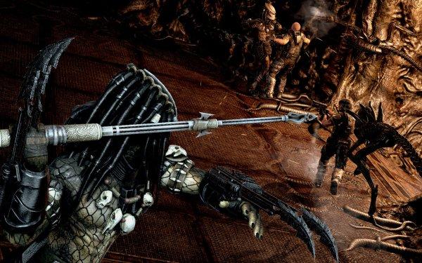 Video Game Aliens Vs. Predator Alien Predator HD Wallpaper   Background Image