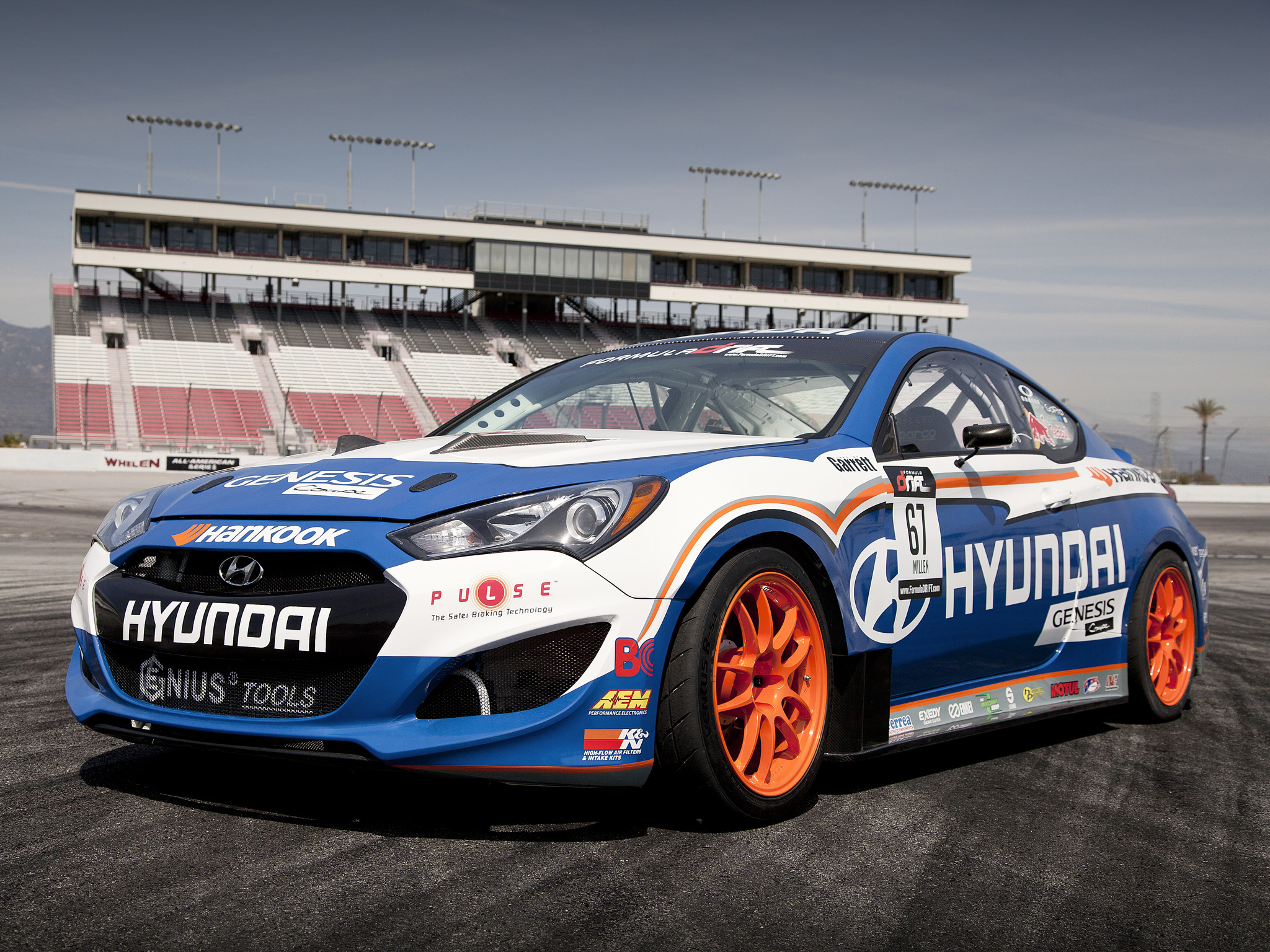 RMR Hyundai Genesis Coupe Formula Drift '2012 Full HD ...