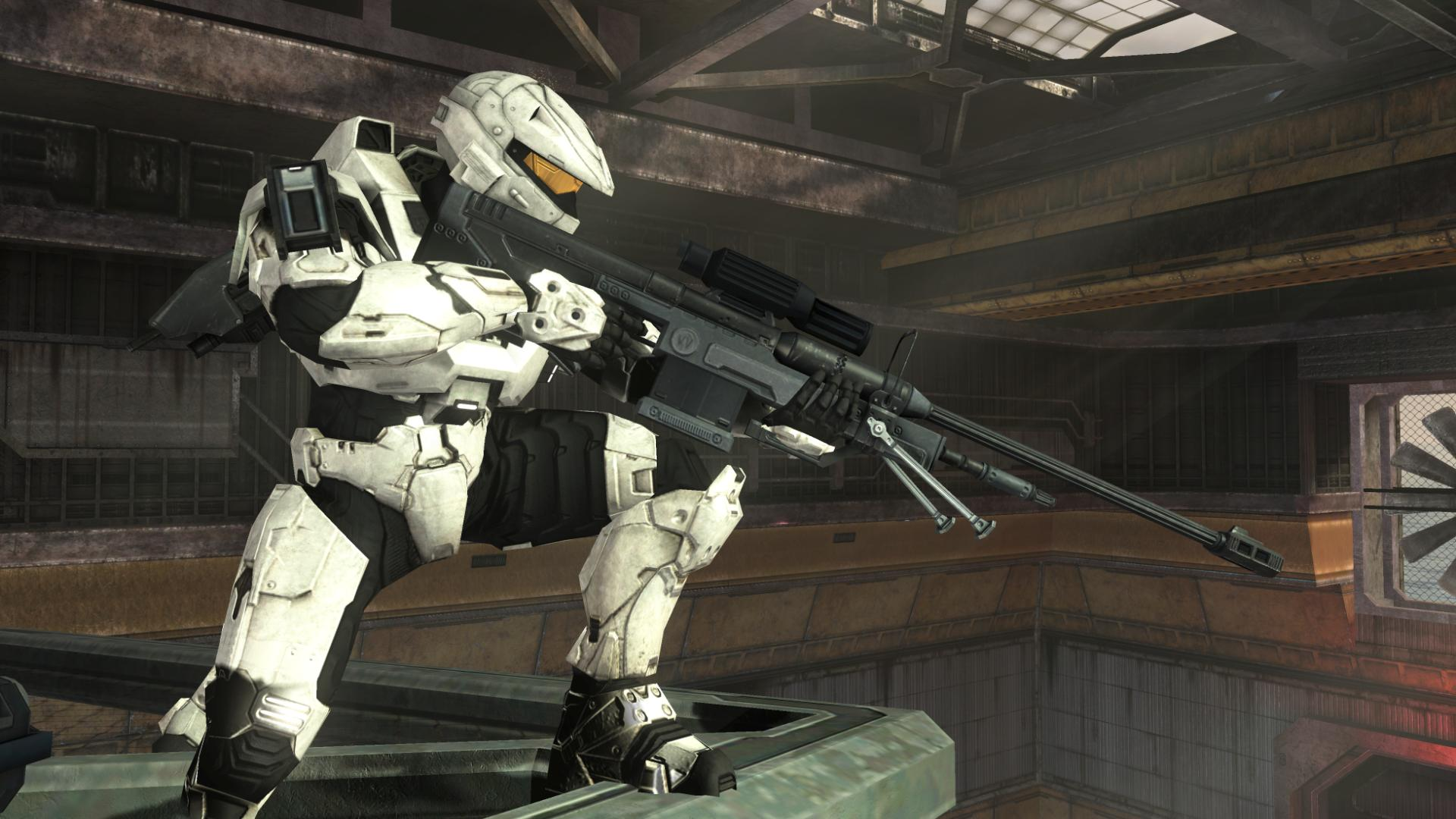 Halo Sniper Full HD Wallpaper And Background Image