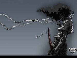 Preview Anime - Afro Samurai Art