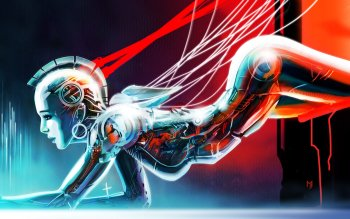 Sci Fi - Cyborg Wallpapers and Backgrounds ID : 282884