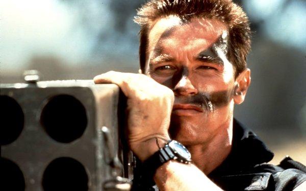 Movie Commando Arnold Schwarzenegger HD Wallpaper | Background Image