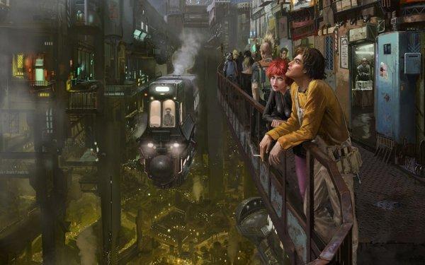 Sci Fi People Cyberpunk HD Wallpaper | Background Image