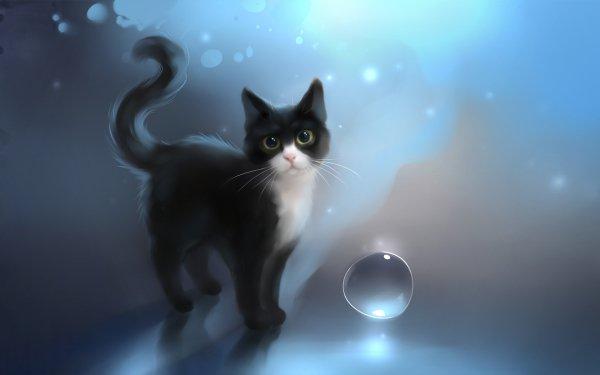 Animal Artistic Cat HD Wallpaper   Background Image