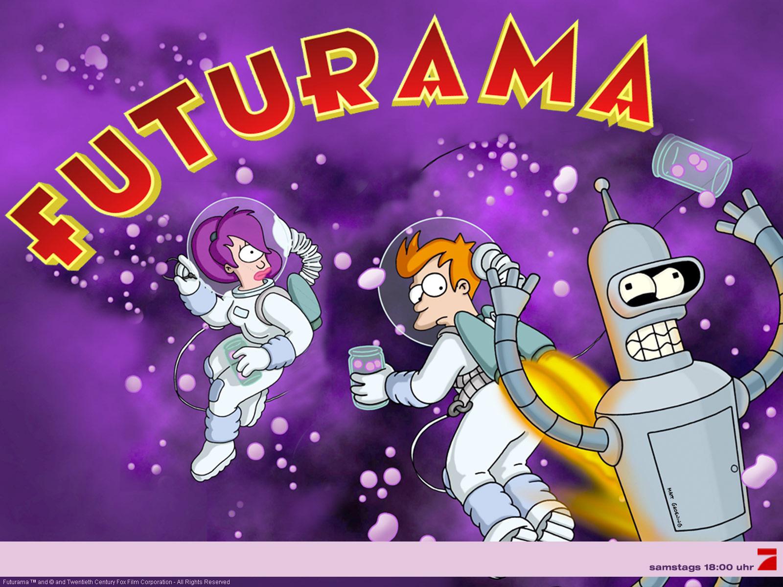 Futurama Wallpaper and Background Image | 1600x1200 | ID ...