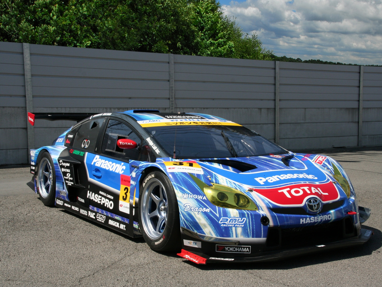 Toyota Prius GT300 Super GT '2012 Wallpaper And Background