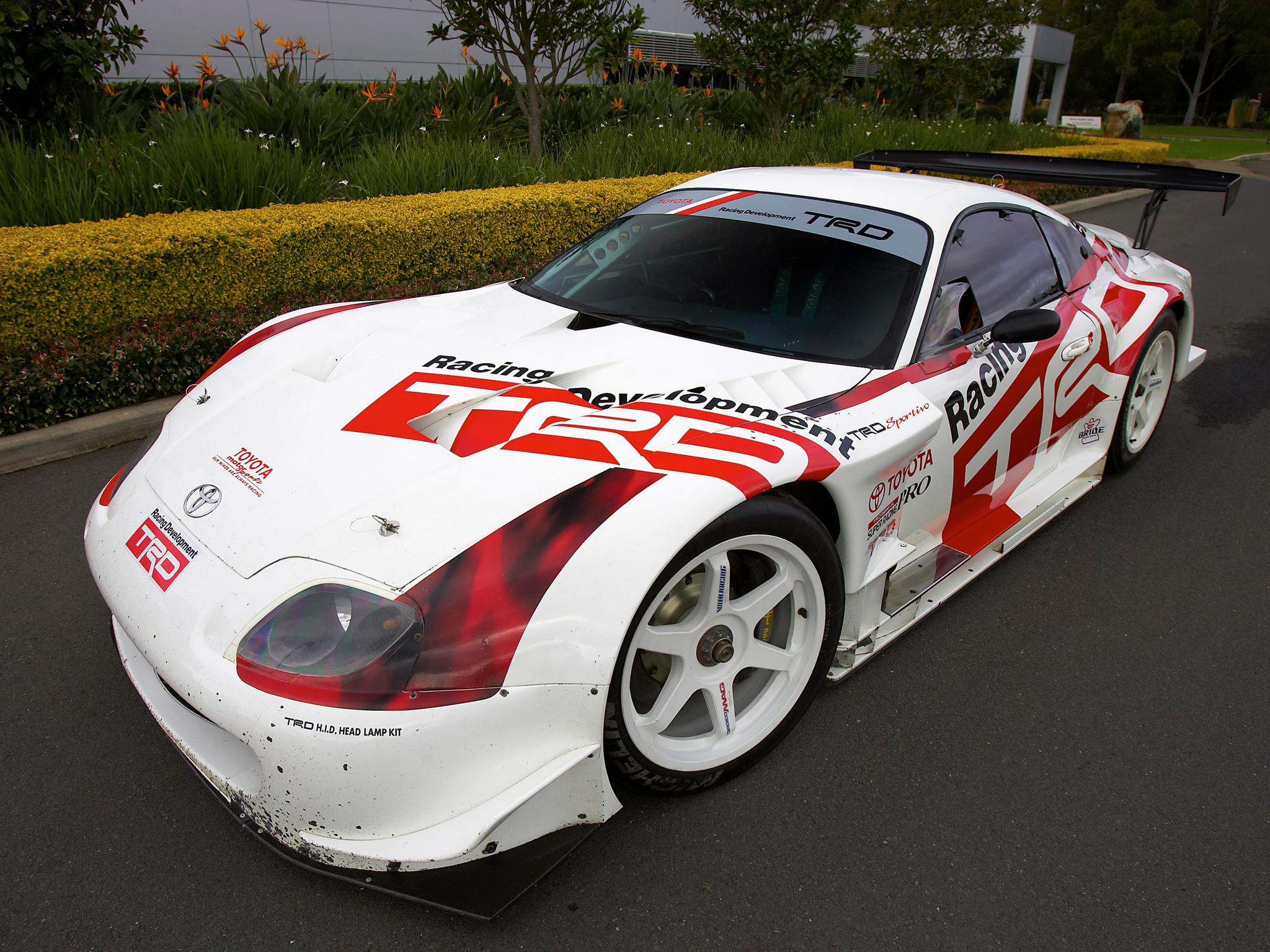 Toyota Supra GT500 JGTC '1995–2004 Full HD Wallpaper And