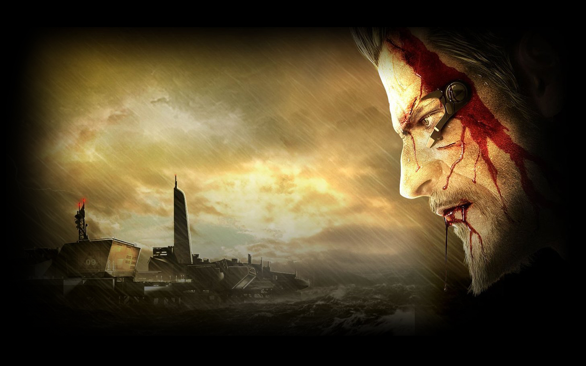 deus ex  human revolution full hd wallpaper and background