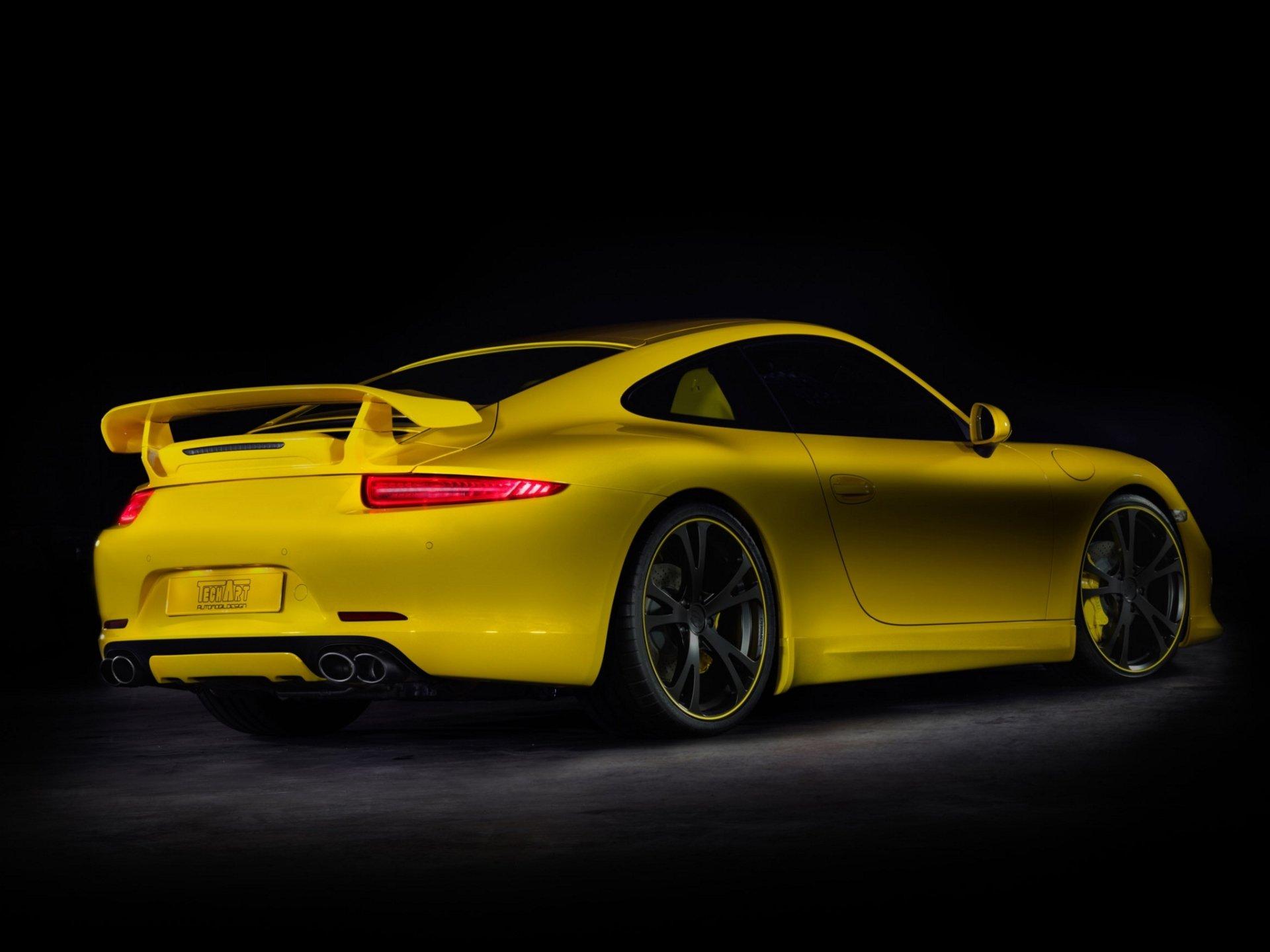 Techart Porsche 911 Carrera S Coupe 991 2012 Fondo De
