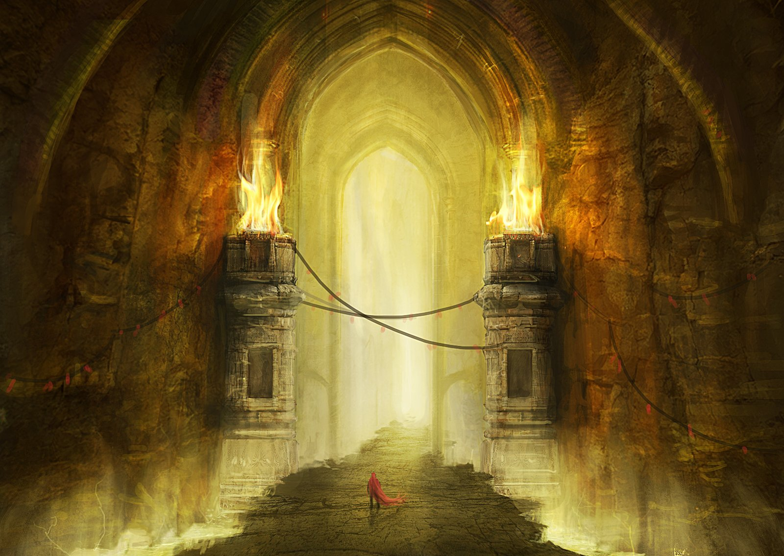 Dungeon Gate Wallpaper And Background Image 1600x1136