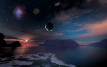 Sciencefiction - Landschap Wallpapers and Backgrounds ID : 283646