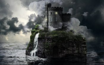 Компьютерная Графика - Fantasy Landscape Wallpapers and Backgrounds