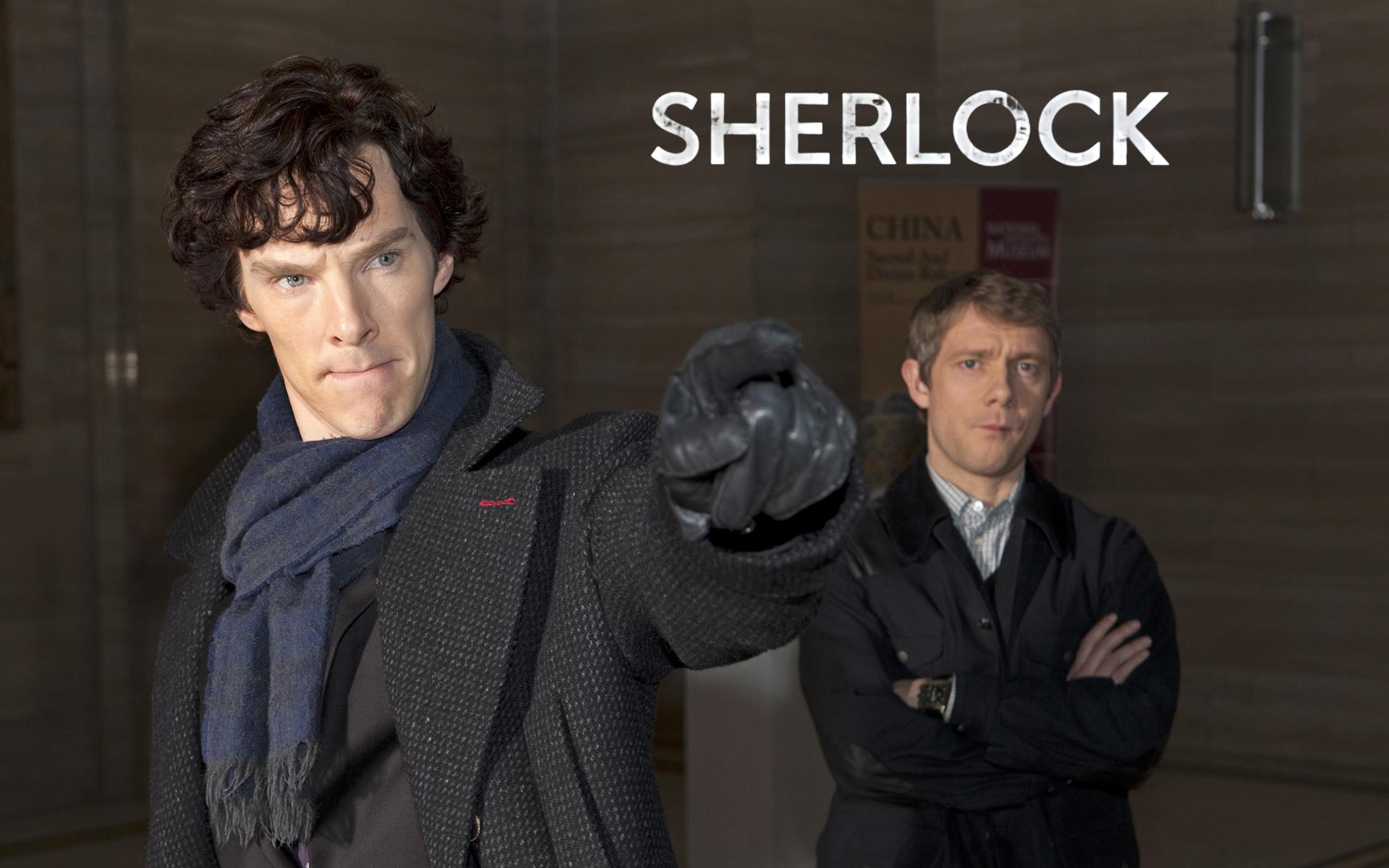 Sherlock HD Wallpaper