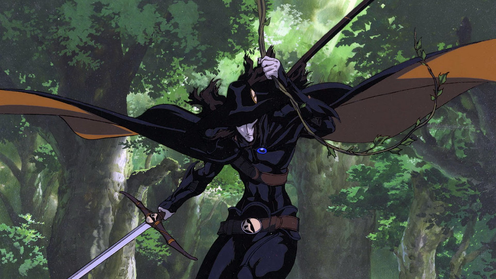 Anime - Vampire Hunter D  Anime Wallpaper
