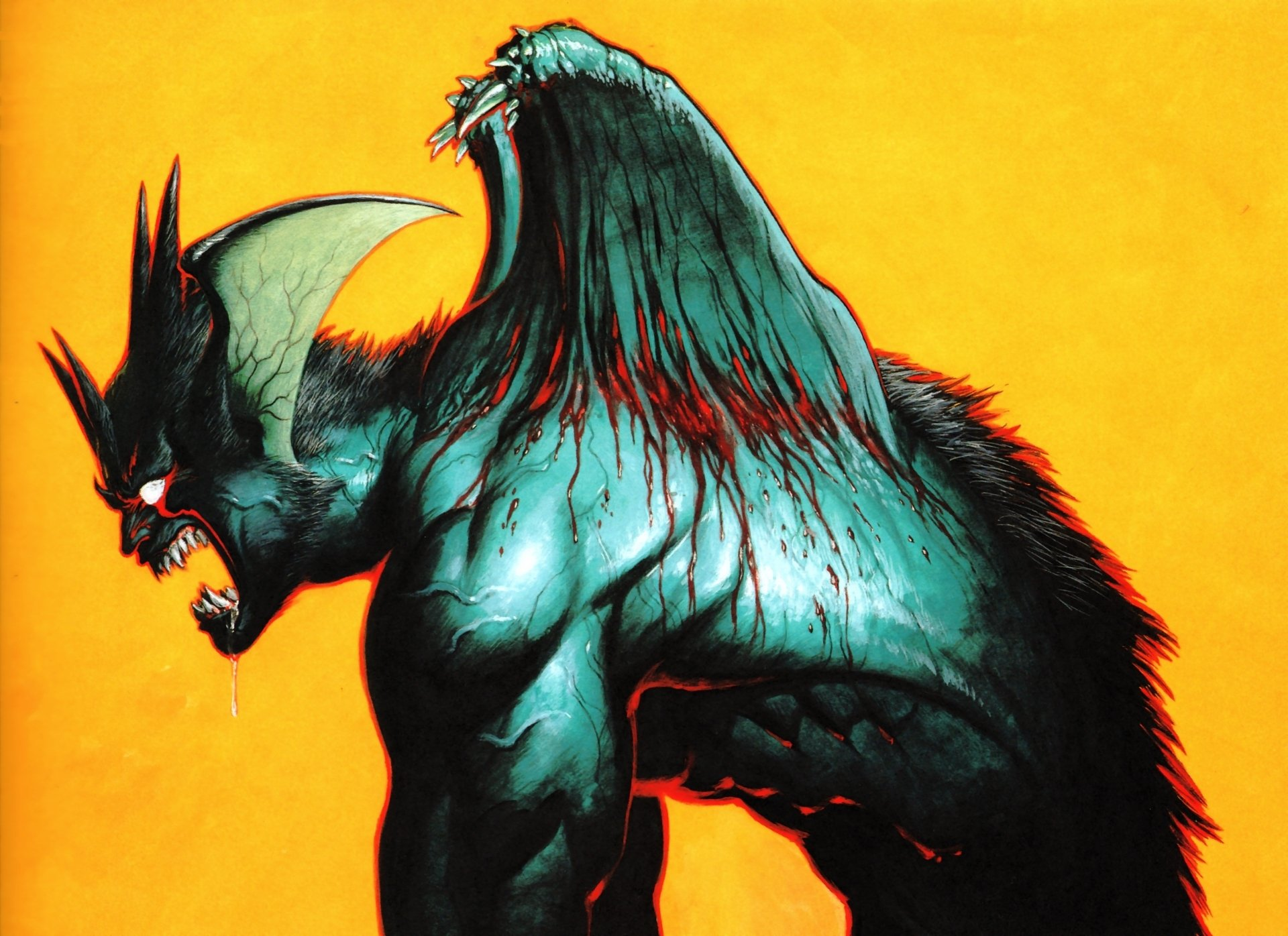 Devilman HD Wallpaper   Background Image   1920x1396   ID ...