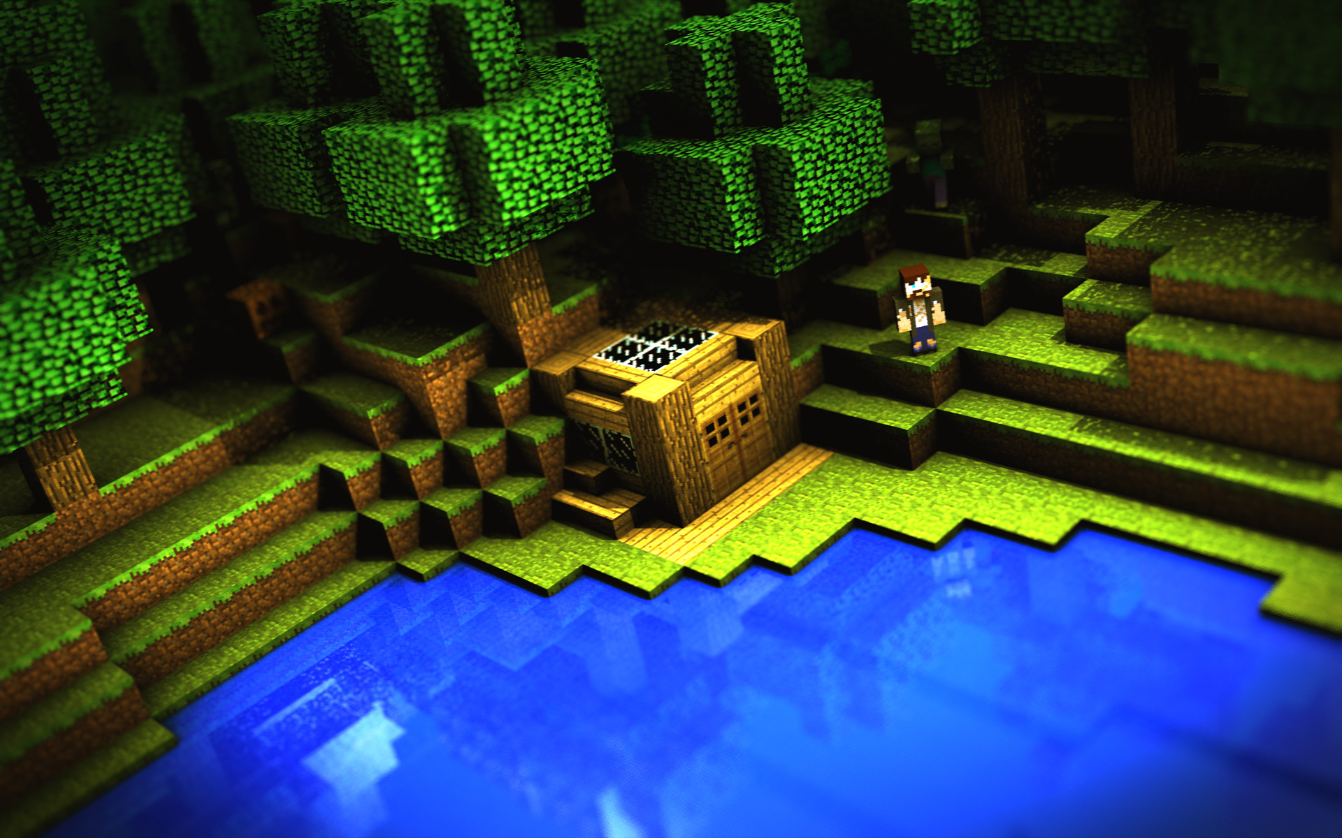 minecraft wallpaper 1920x1200 original - photo #21