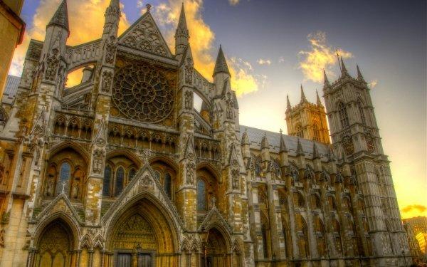 Hecho por el hombre Edificio Edificios HDR Religious Catedral Arquitectura Iglesia Close-Up Westminster Abbey London Fondo de pantalla HD | Fondo de Escritorio