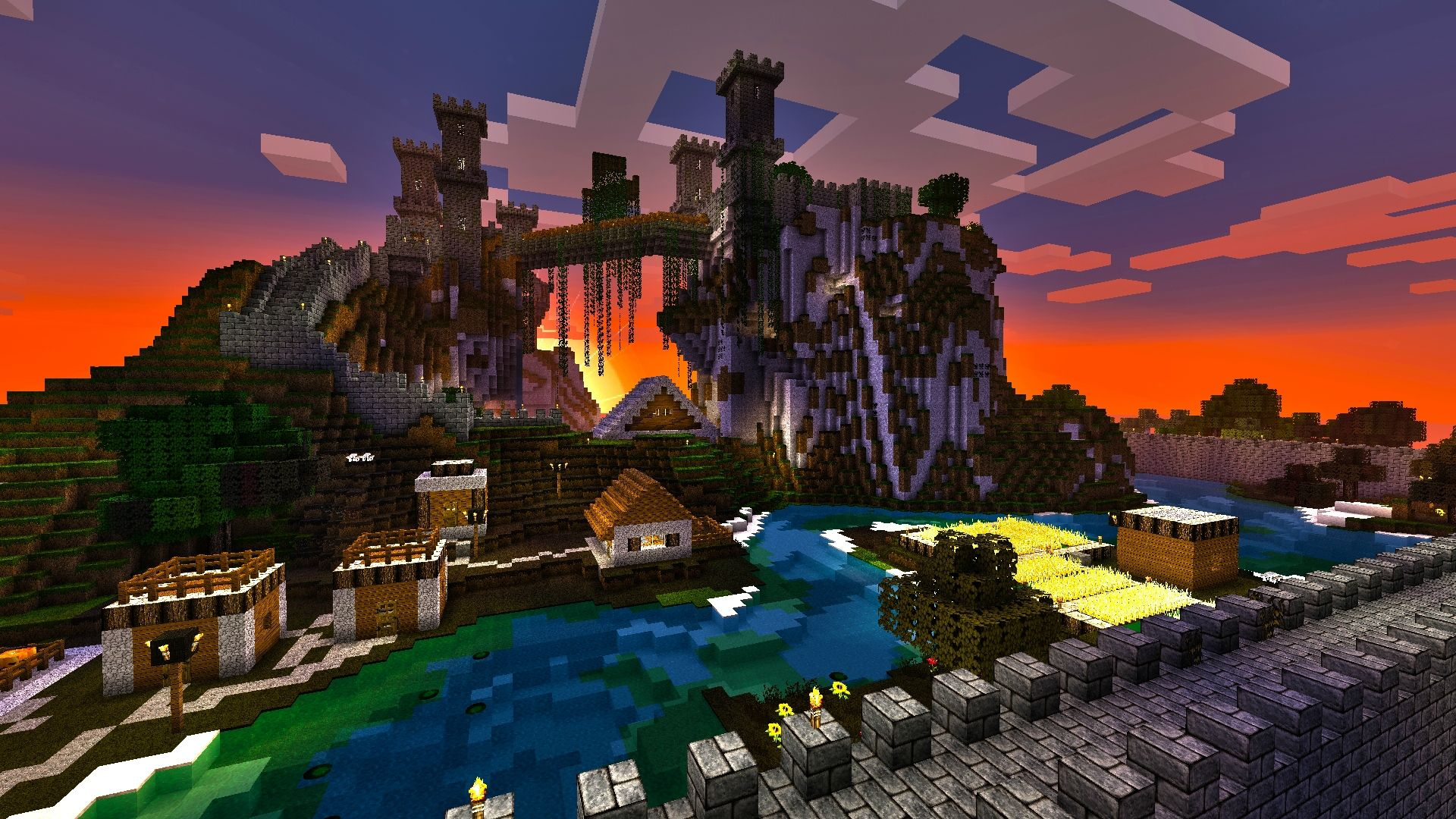 Download Wallpaper Minecraft Art - 286264  Pictures_303771.jpg