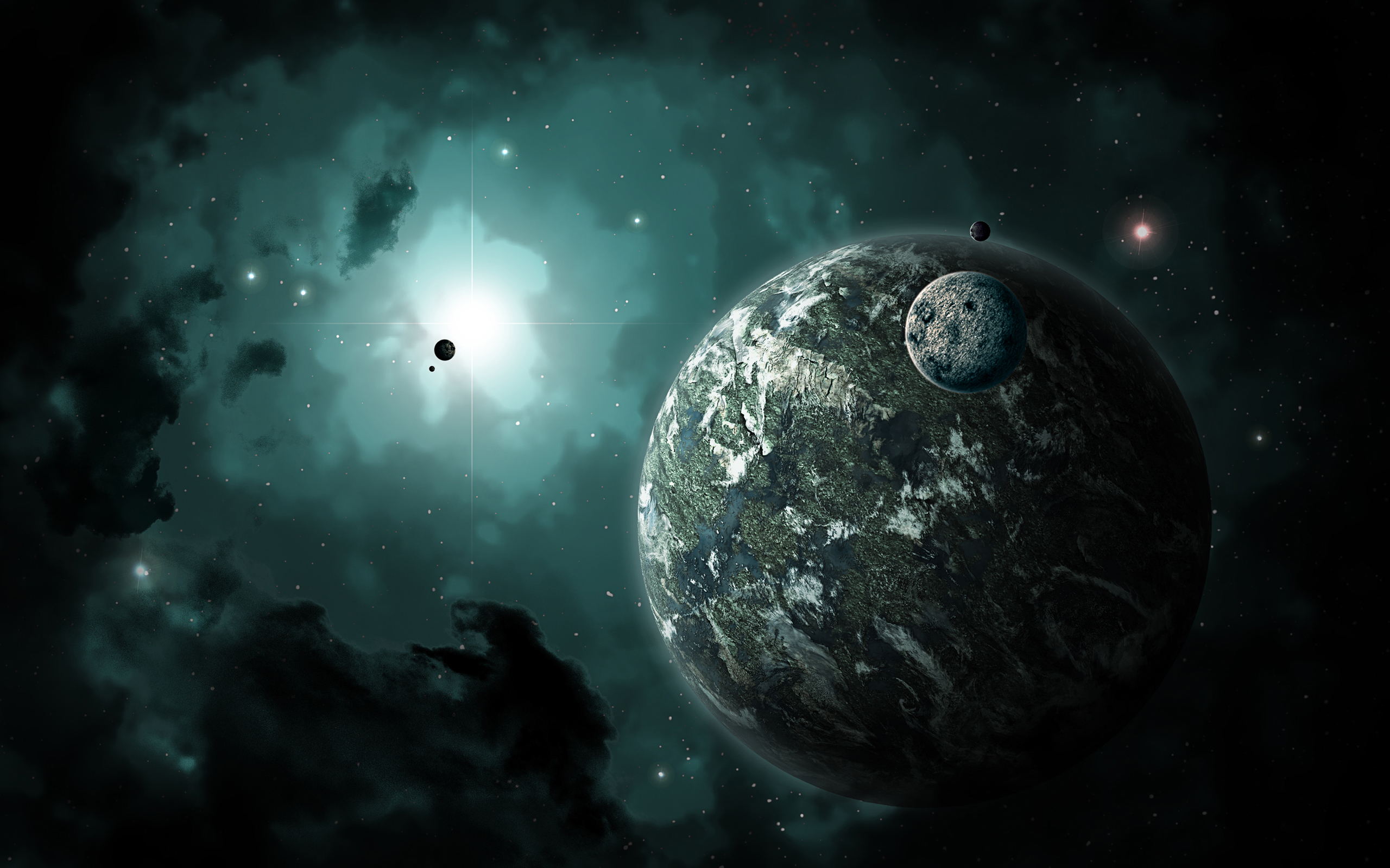 planets 3d windows background - photo #38