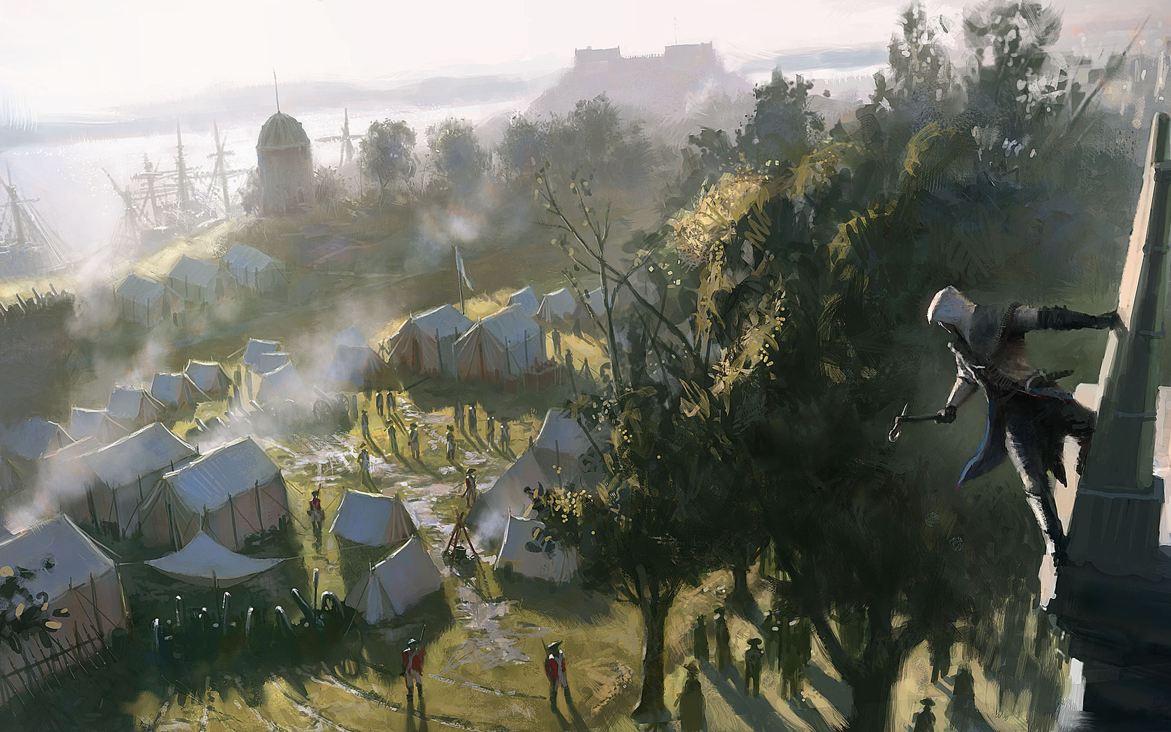assassins creed iii wallpaper and background image