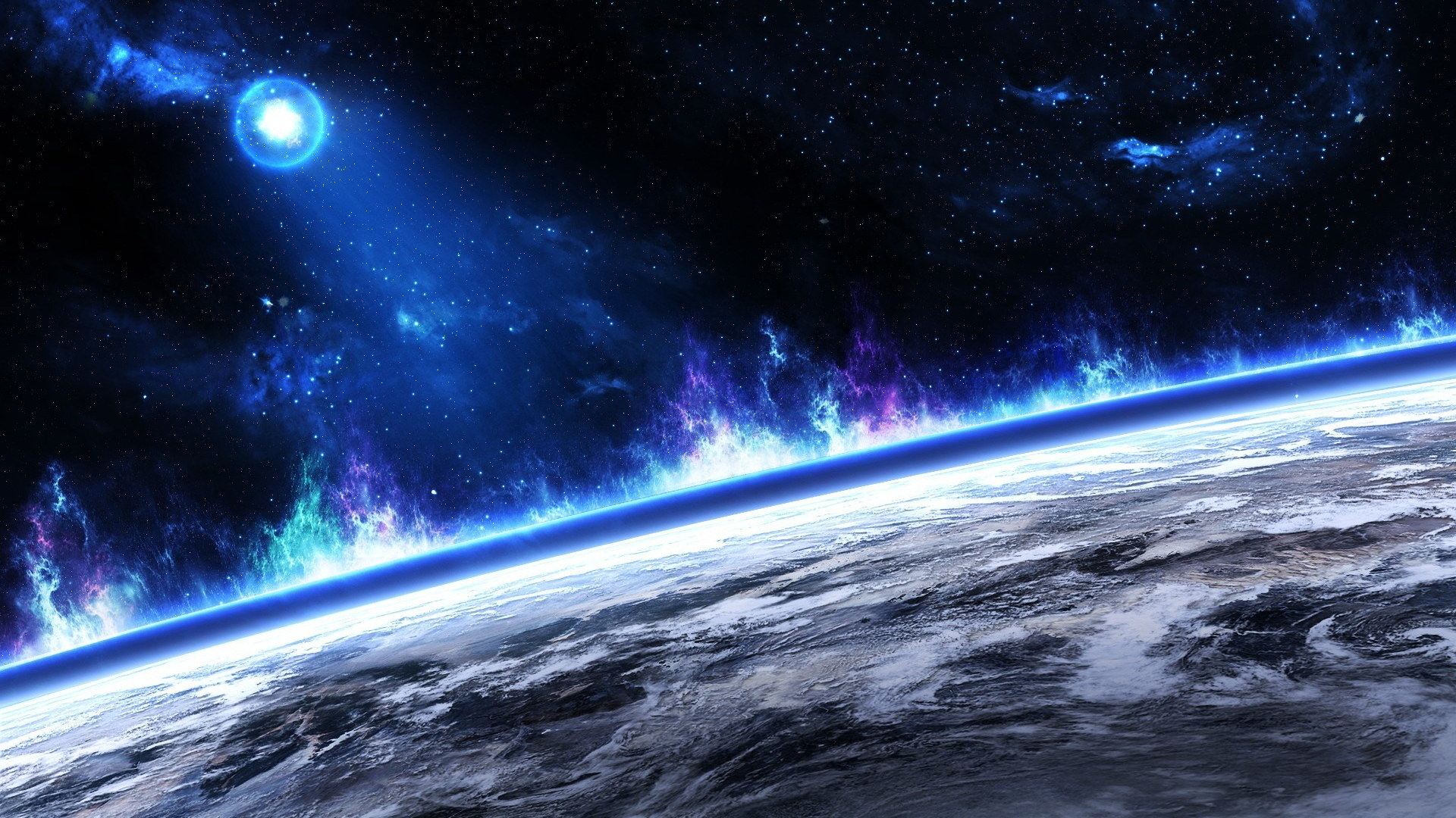1920x1080 Hd Wallpaper Background Image: Planetscape HD Wallpaper