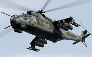 Military - Mil Mi-24 Wallpapers and Backgrounds ID : 286324