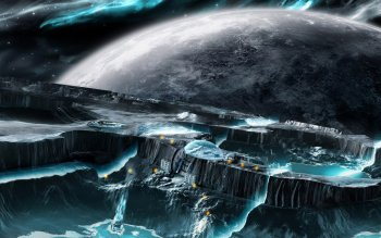 Sci Fi - Planetscape Wallpapers and Backgrounds ID : 286866