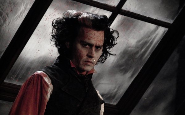 Movie Sweeney Todd: The Demon Barber of Fleet Street in Concert Johnny Depp HD Wallpaper | Background Image