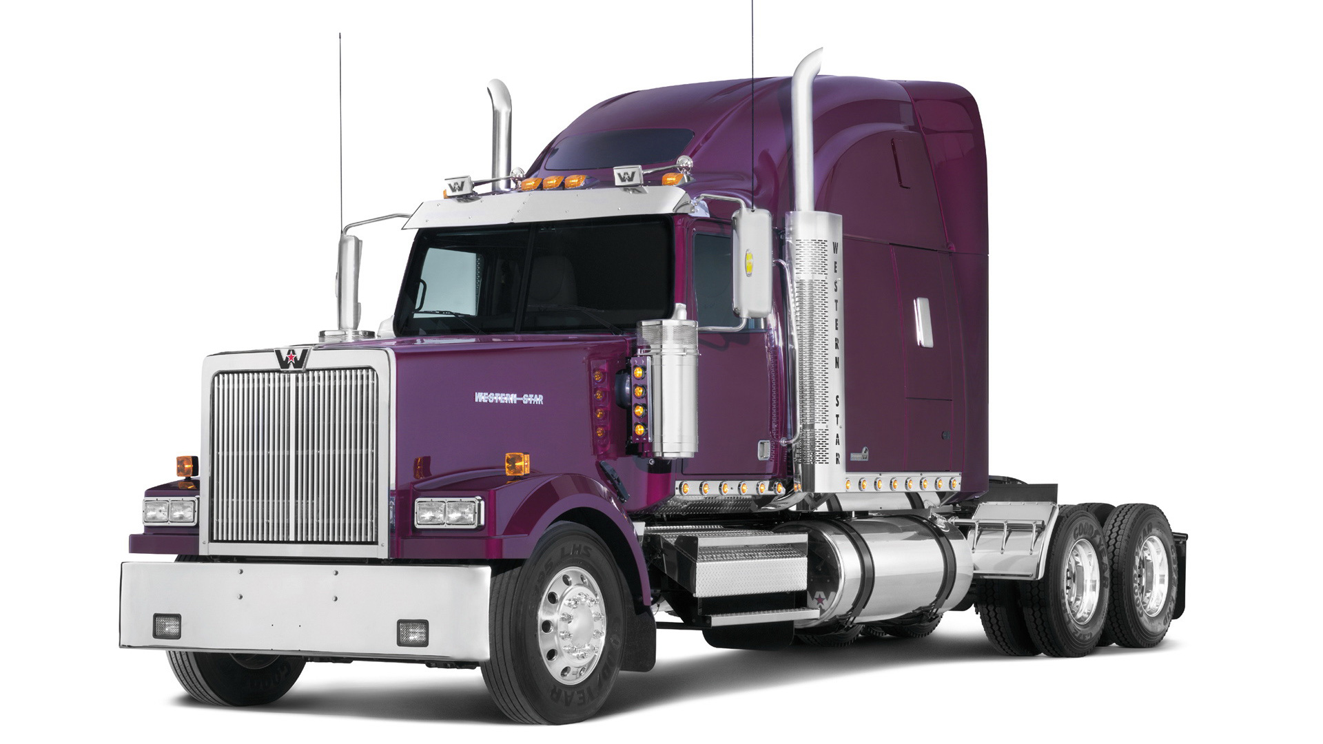 Western Star Semi Trailer Full Hd Wallpaper And Background