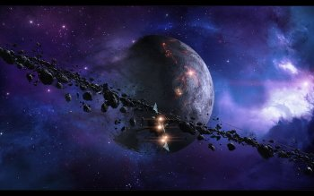 Science-Fiction - Planetary Ring Wallpapers and Backgrounds ID : 287014