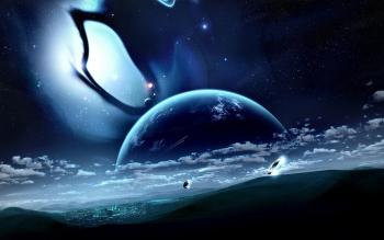 Sci Fi - Planet Rise Wallpapers and Backgrounds ID : 287018