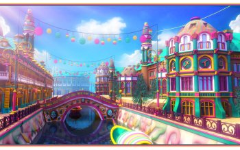 Fantasy - City Wallpapers and Backgrounds ID : 287774