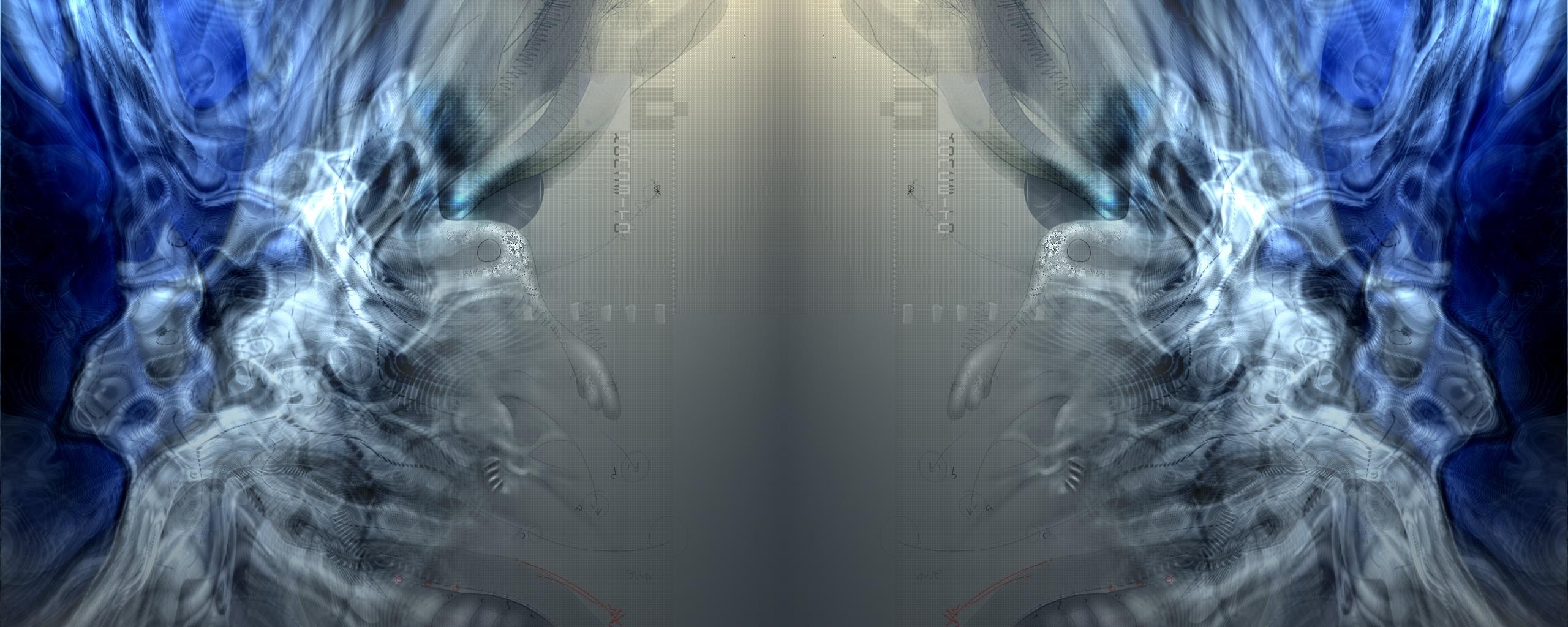 Multi Monitor - Artistisk  Bakgrund