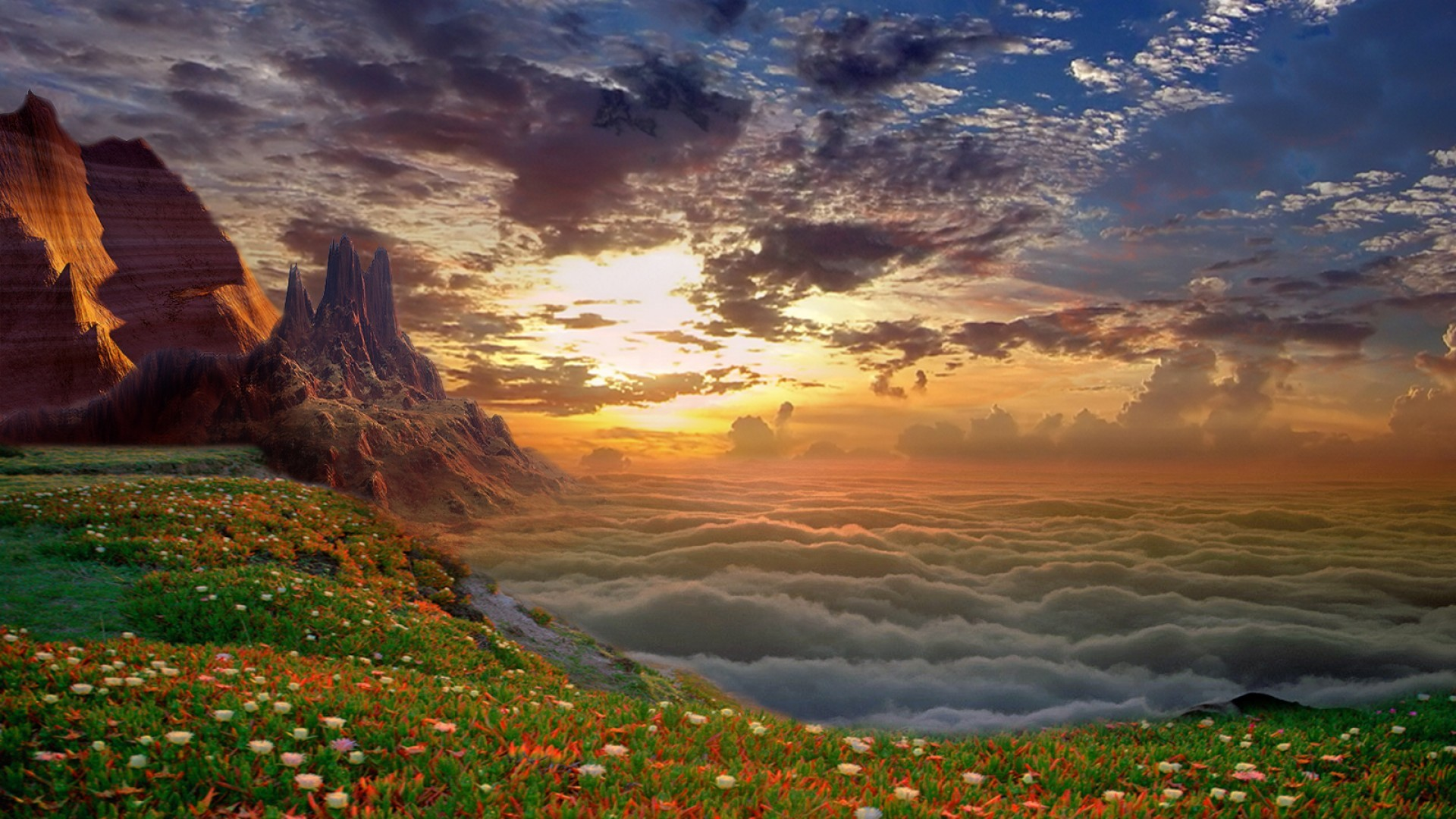 Fantasy - Landscape  Wallpaper
