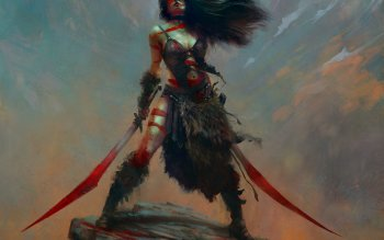 Fantasy - Women Warrior Wallpapers and Backgrounds ID : 288854