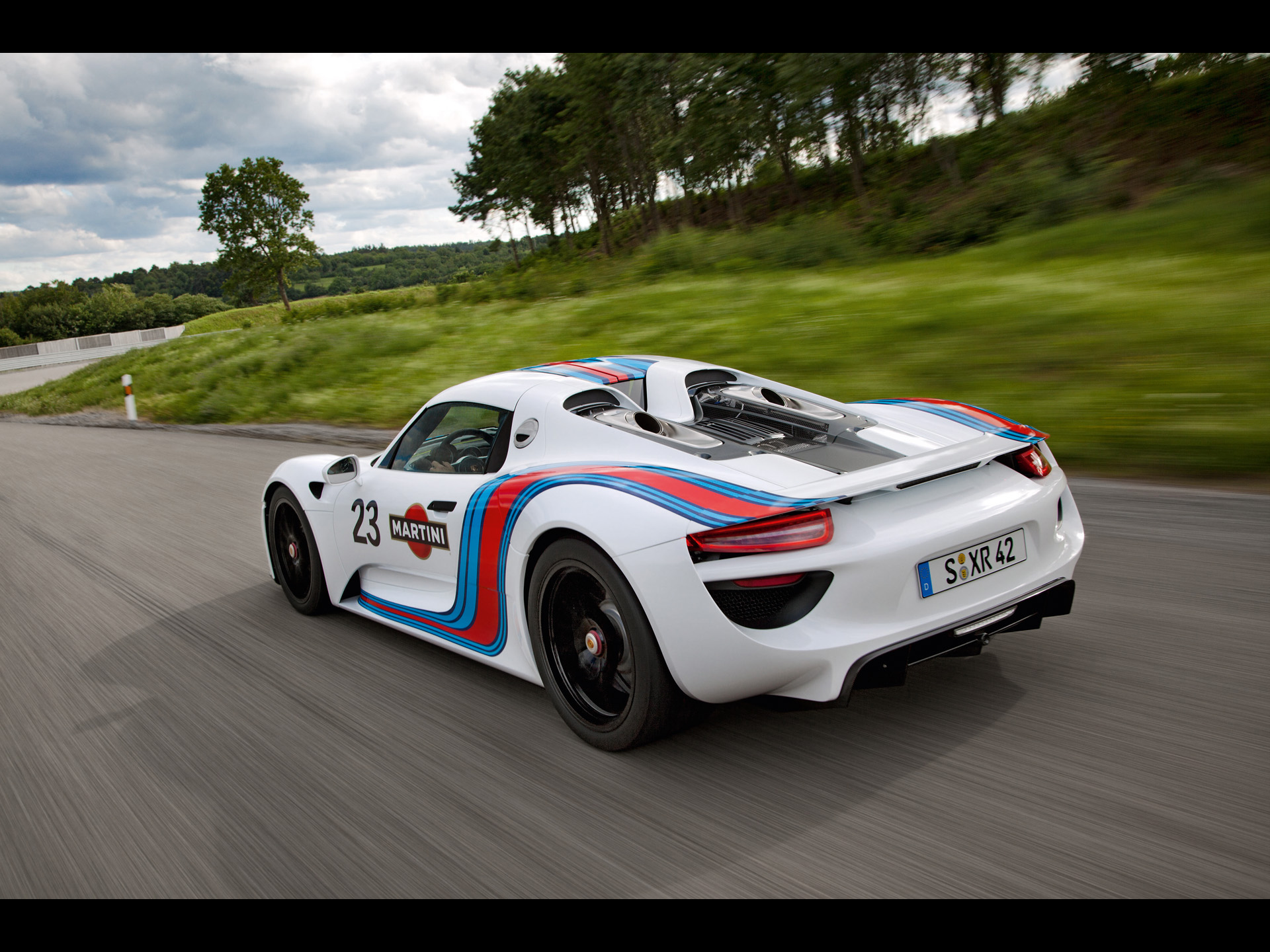 2012 porsche 918 spyder martini racing design prototype. Black Bedroom Furniture Sets. Home Design Ideas