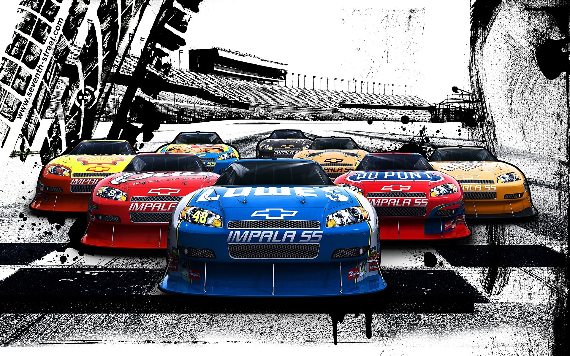 Nascar Iphone Wallpaper: Nascar Full HD Wallpaper And Background