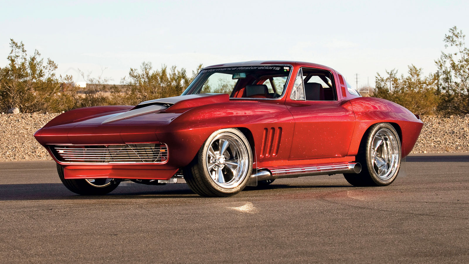 Chevy Muscle Car Wallpaper: 1965 Corvette Optima Ultimate Street Car HD Wallpaper