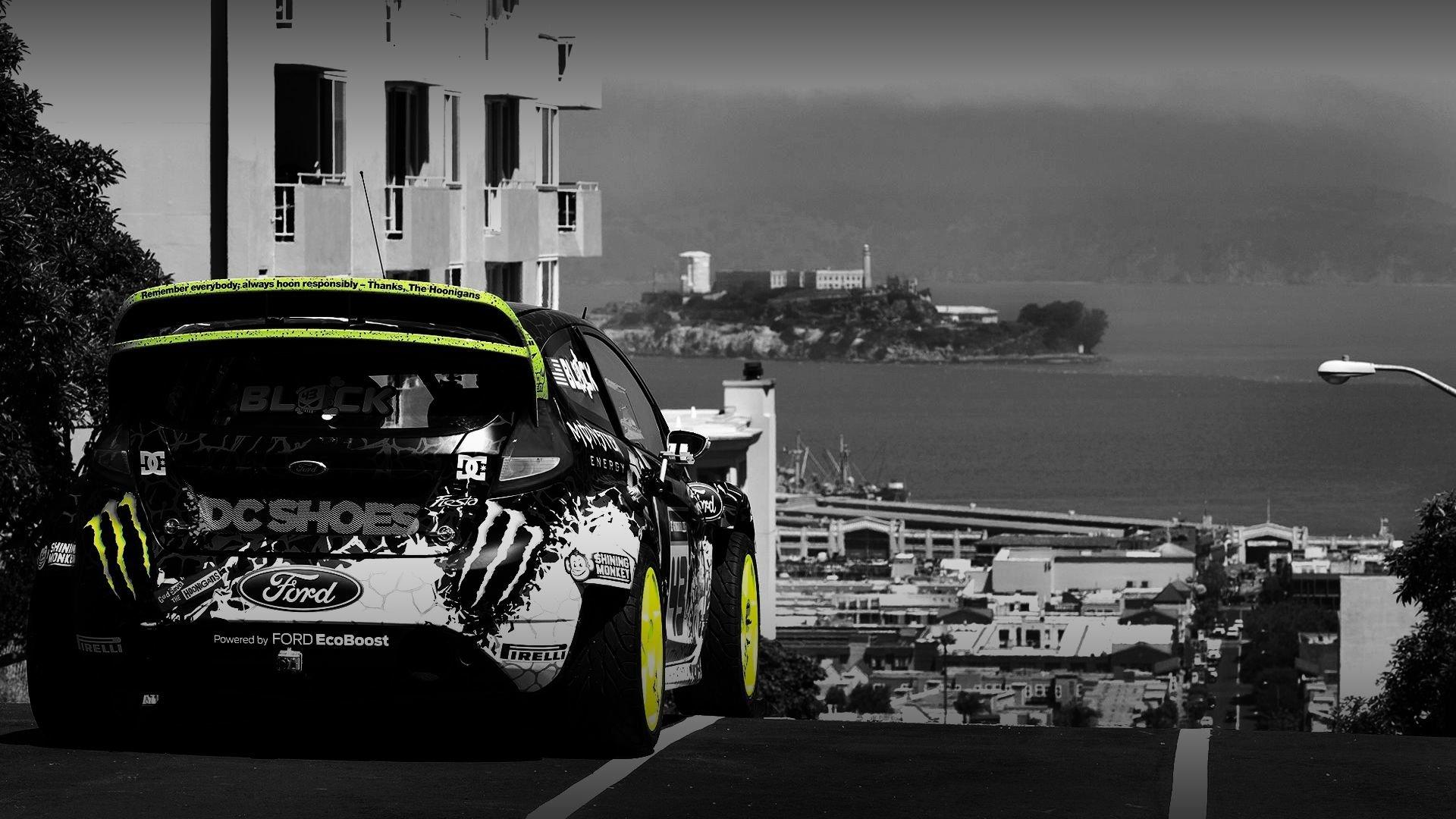 Vehicles - Race Car  San Francisco Ken Block Wallpaper