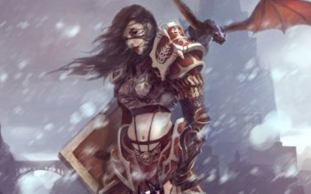 Fantasy - Women Warrior Wallpapers and Backgrounds ID : 289764