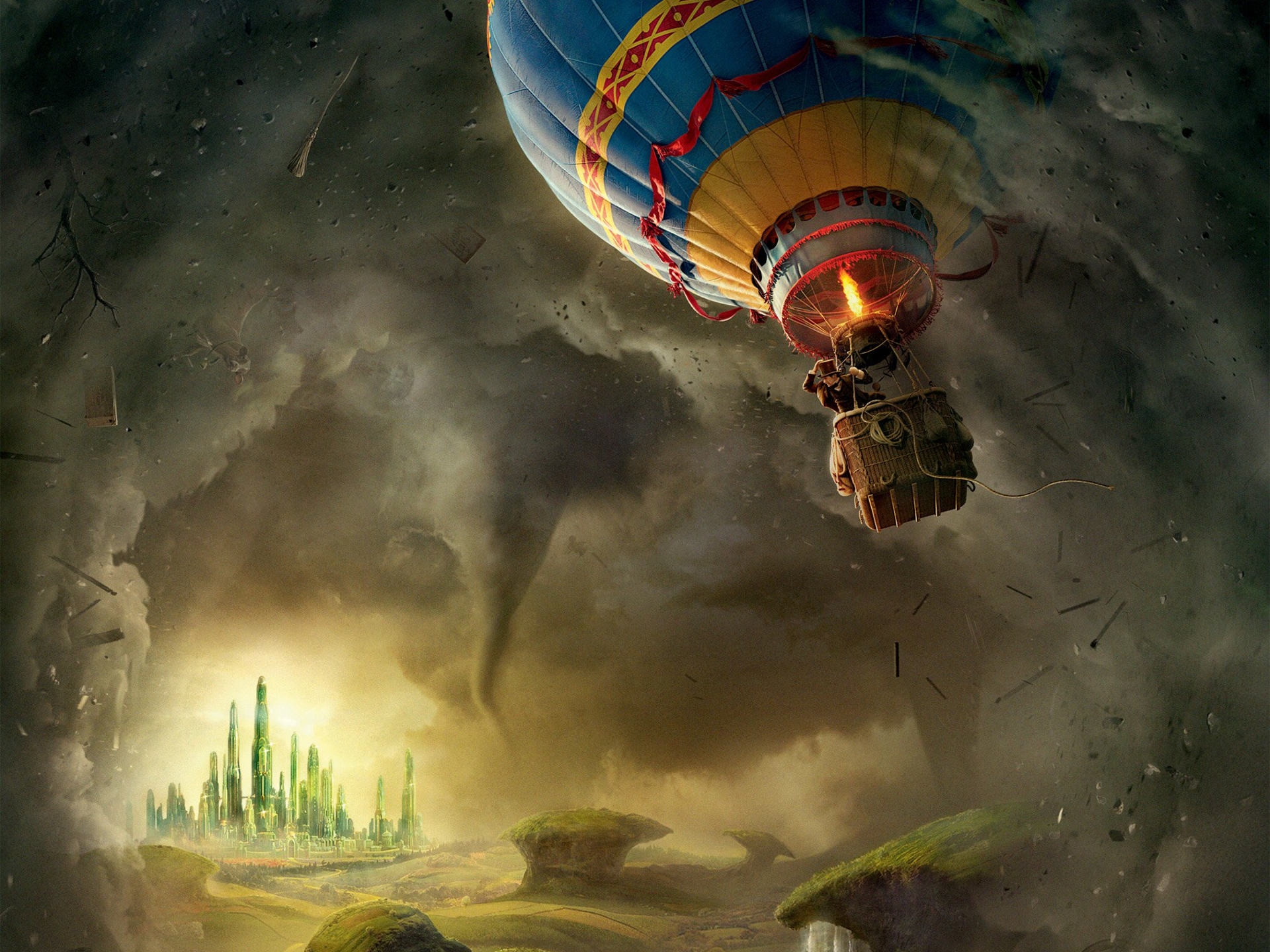 Oz The Great And Powerful Full Hd Wallpaper And Background -4218
