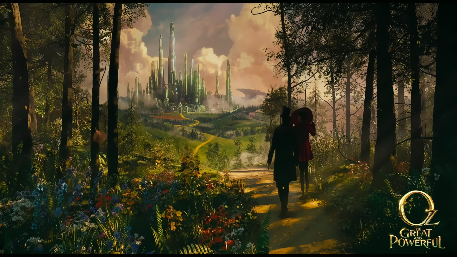 Oz the great and powerful hd wallpaper background image 1920x1080 id 290794 wallpaper abyss - The wizard of oz hd ...