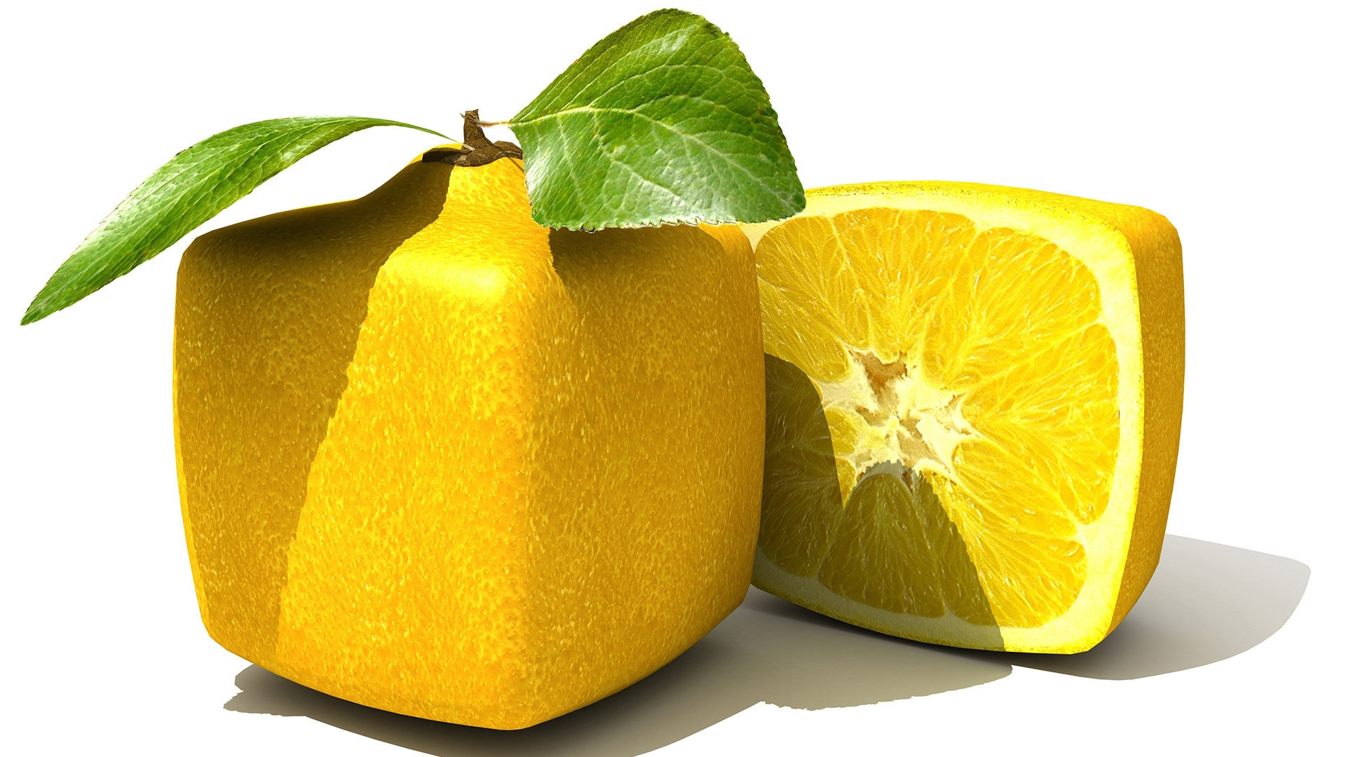Square Lemons Computer Wallpapers, Desktop Backgrounds ...