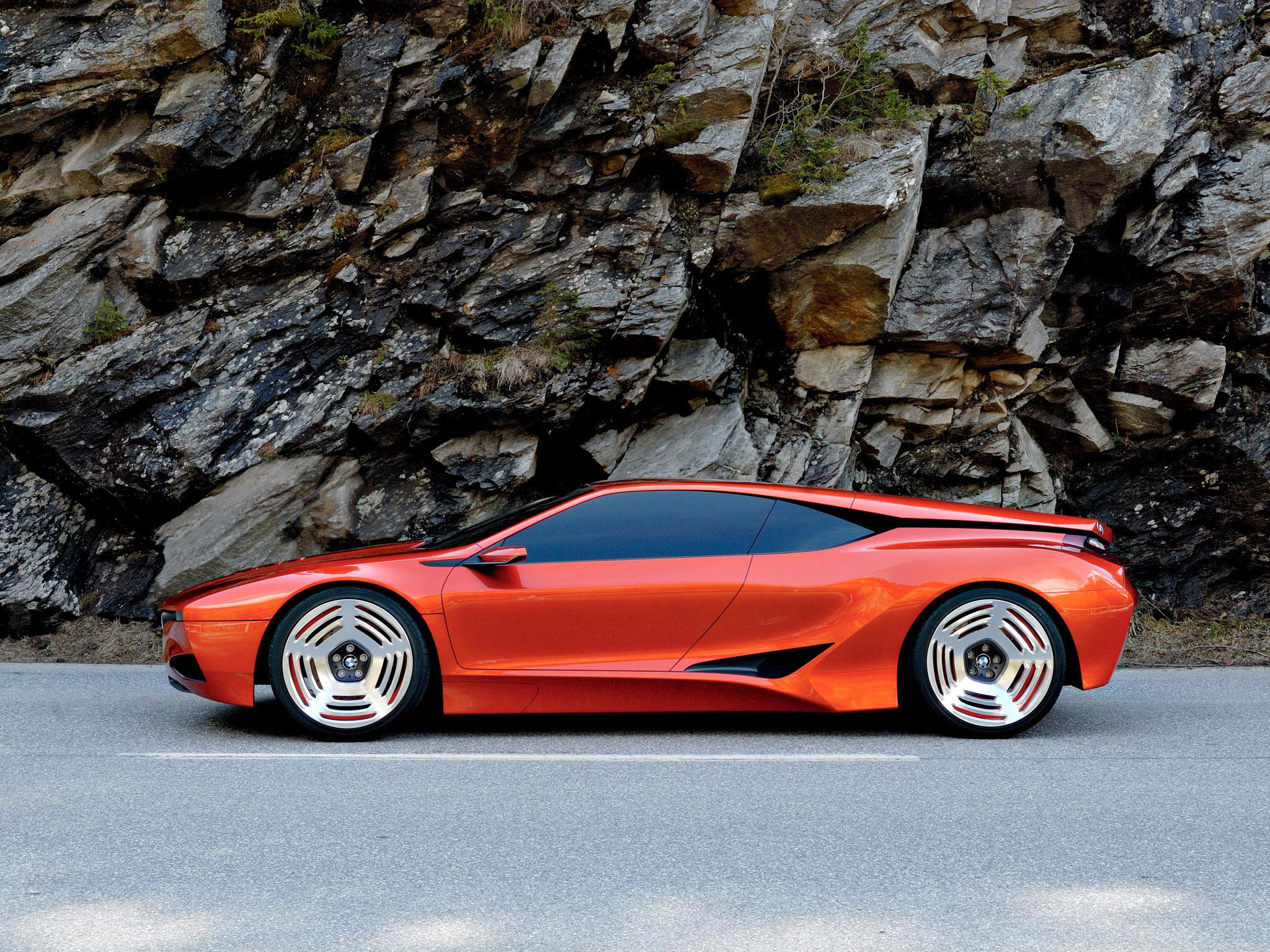 BMW M1 Hommage Concept '2008 Fond d'écran HD | Arrière ...