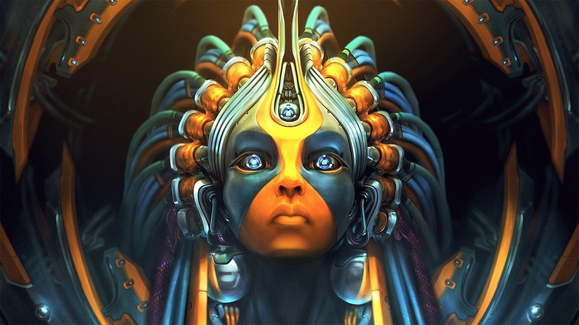 Sci Fi - Cyborg  Fantasy Wallpaper